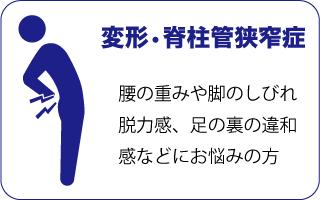 脊柱管狭窄症コルセット