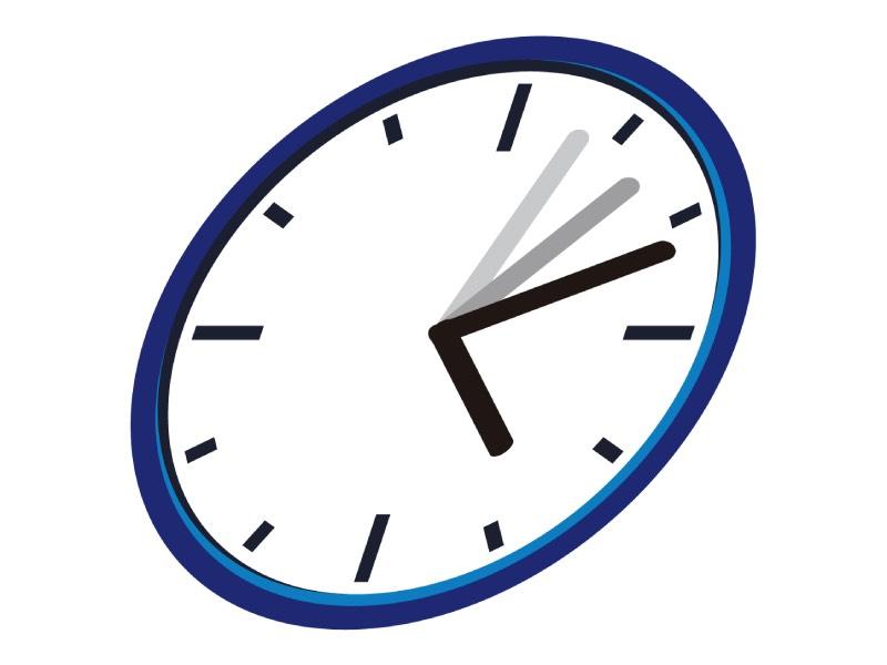 時間を限定する時計