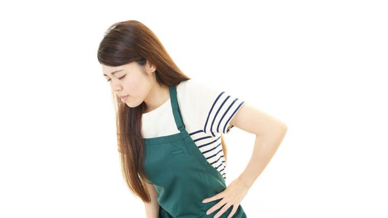 腕と腰痛の関係