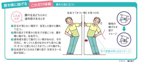 骨盤の体操