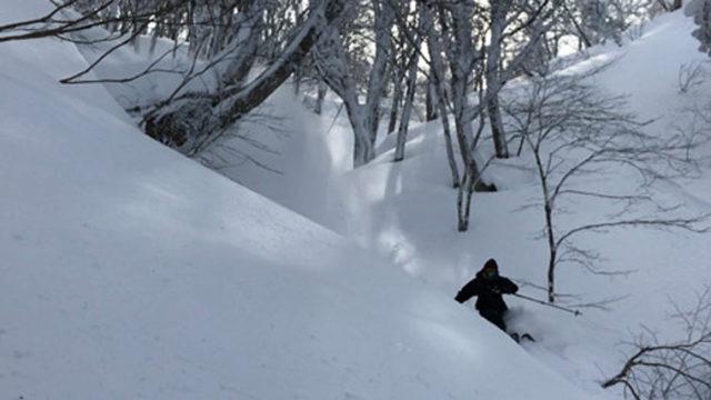 ぎっくり腰からのスキー