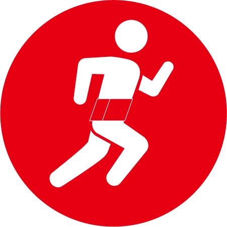 腰痛予防・スポーツ用の腰痛ベルト