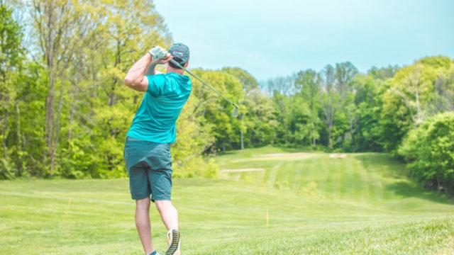 ゴルフの腰痛の原因