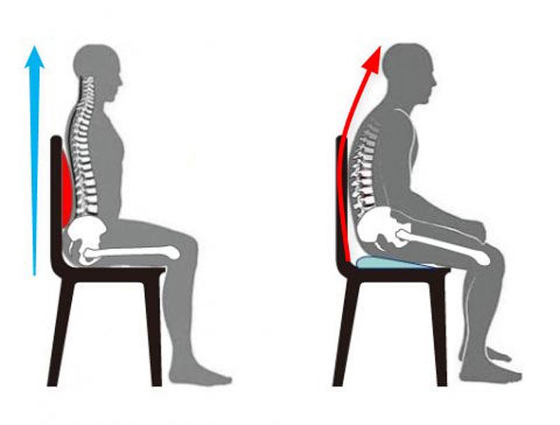 坐骨神経痛が緩和する座り方