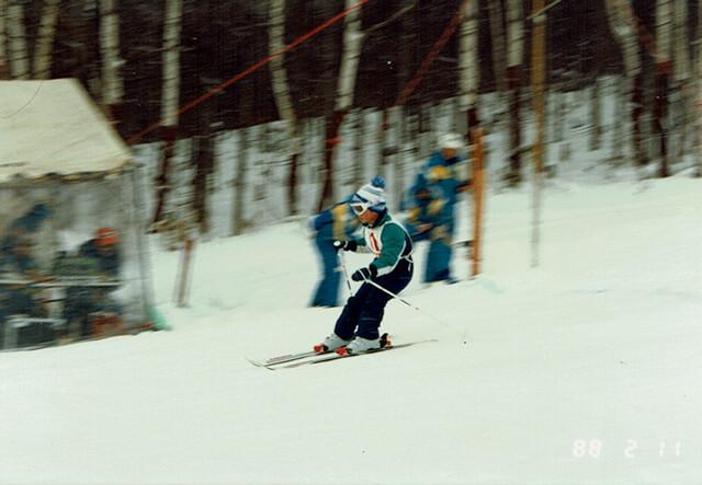 6歳の頃のスキー