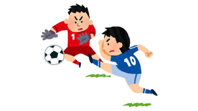 サッカーの腰痛対策